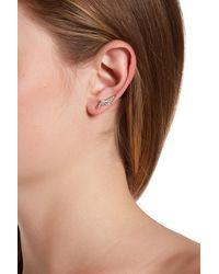 Rebecca Minkoff - Multicolor Double Triangle Ear Climbers - Lyst