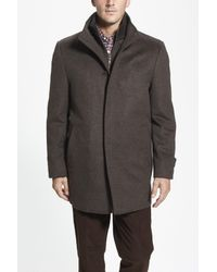 Cardinal Of Canada - Brown Wool Jacket for Men - Lyst
