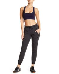 New Balance - Black Authentic Lifestyle Sweatpant - Lyst