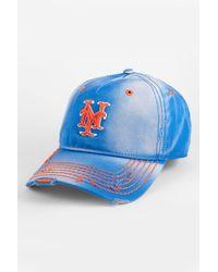 American Needle - Blue New York Mets Baseball Cap for Men - Lyst