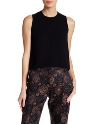 A.L.C. | Black Cher Sleeveless Blouse | Lyst