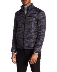 Emanuel Ungaro Black Reversible Puffer Jacket for men