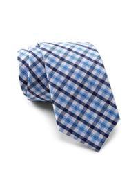 Original Penguin - Blue Malisse Plaid Tie for Men - Lyst
