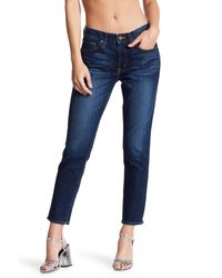 Big Star - Blue Billie Cropped Jeans - Lyst