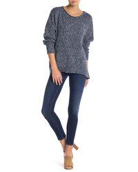 Hudson - Blue Krista Ankle Skinny Jeans - Lyst