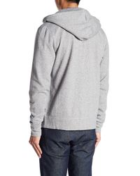 Jack Spade - Gray Cable Knit Lined Hoodie for Men - Lyst