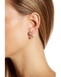 Marchesa | Multicolor Simulated Pearl Ear Jacket | Lyst