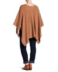 Naked Cashmere - Multicolor Hillary Textured Cashmere Poncho (plus Size) - Lyst