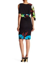 Tracy Reese | Blue Asymmetric Tee Dress | Lyst