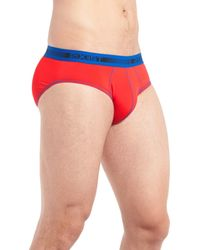 2xist - Red Performance Micro Briefs - Pack Of 2 for Men - Lyst
