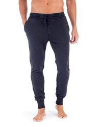 Unsimply Stitched | Blue Stone Washed French Terry Jogger for Men | Lyst