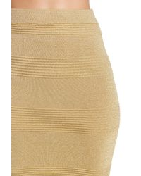 Endless Rose - Metallic Textured Skirt - Lyst