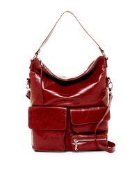 Hobo | Red Explorer Leather Shoulder Bag | Lyst
