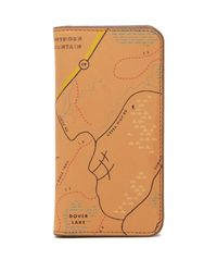 Fossil - Multicolor Nolan Leather Phone Case/wallet - Lyst