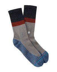 Stance - Gray Atacama Crew Socks for Men - Lyst
