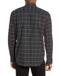 Theory - Multicolor Rammy Trim Fit Check Flannel Shirt for Men - Lyst