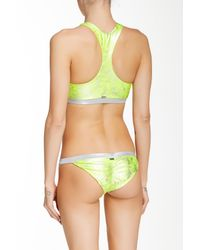 Beach Bunny - Green Neon Galaxy Tankini - Lyst