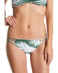 Mikoh Swimwear - Green Lanai Bikini Bottom - Lyst
