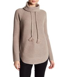Catherine Malandrino - Multicolor Cashmere Cowl Neck Sweater - Lyst