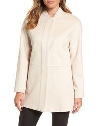 Fleurette - Natural Loro Piana Wool Coat (nordstrom Exclusive) - Lyst