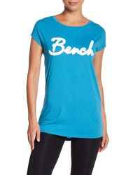Bench - Blue Tarific Logo Tee - Lyst