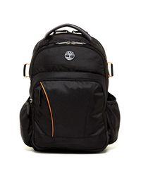 "Timberland | Black Danvers River 17"" Backpack for Men | Lyst"
