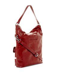 Hobo - Red Explorer Leather Shoulder Bag - Lyst