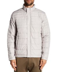 Kenneth Cole | Multicolor Matte Quilted Winter Coat for Men | Lyst