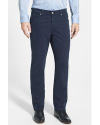 AG Jeans | Blue Graduate Tailored Leg Pants for Men | Lyst