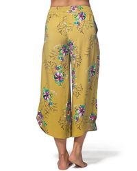 Rip Curl - Multicolor Sweet Nothing Wide Leg Pants - Lyst