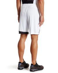 Lotto - White Knit Short for Men - Lyst