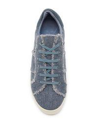 Joie Blue Dakota Denim Sneaker