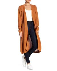 Somedays Lovin - Multicolor Fields Of Gold Long Knit Cardigan - Lyst