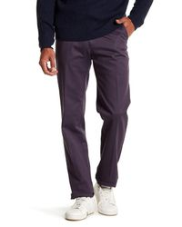 Peter Millar - Multicolor Raleigh Washed Twill Solid Pants for Men - Lyst