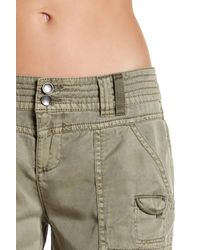 Marrakech - Multicolor Lisza Cropped Cargo Pant - Lyst