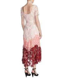 Maje - Romarin Tiered Lace Dress - Lyst