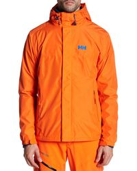 Helly Hansen - Orange Hustad Cis Jacket for Men - Lyst