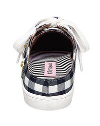 Betsey Johnson - Multicolor Edna Sneaker Slide - Lyst