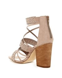 Carlos By Carlos Santana - Brown Java Block Heel Sandal - Lyst