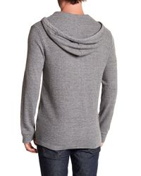 Lucky Brand - Gray Hoodie Pullover for Men - Lyst