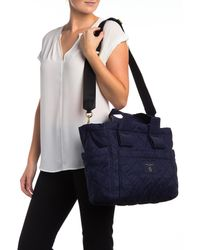 Marc Jacobs - Blue Diamond Quilted Baby Bag - Lyst