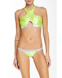 Beach Bunny - Green Neon Galaxy Bikini Bottom - Lyst