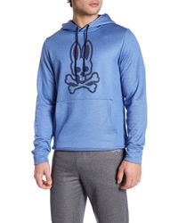 Psycho Bunny | Blue Lounge Thermo Active Hoodie for Men | Lyst