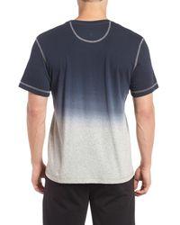 Daniel Buchler - Blue Ombre Peruvian Pima Cotton T-shirt for Men - Lyst