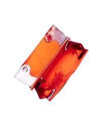 Ted Baker - Red Playful Poppy Poppei Bow Evening Bag - Lyst