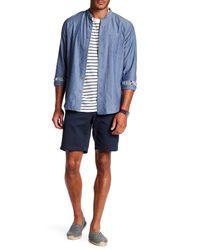 Tailor Vintage | Blue Woven Stretch Fit Short for Men | Lyst