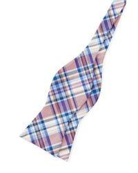 Tommy Hilfiger - Blue Silk Oxford Tartan Bowtie for Men - Lyst