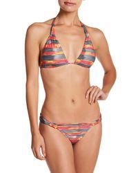 ViX - Multicolor Long Beach Triangle Bikini Top - Lyst