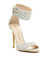 Chinese Laundry - Metallic Jovial Ankle Strap Sandal - Lyst