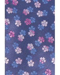 Ted Baker - Blue Ombre Floral Silk Tie for Men - Lyst